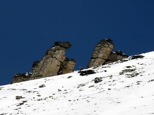 Vor dem Col des Paresseux