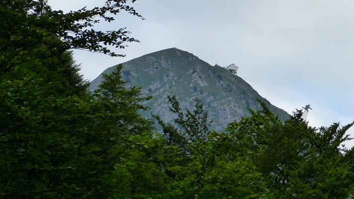 Le Moléson - Blick vom Tal