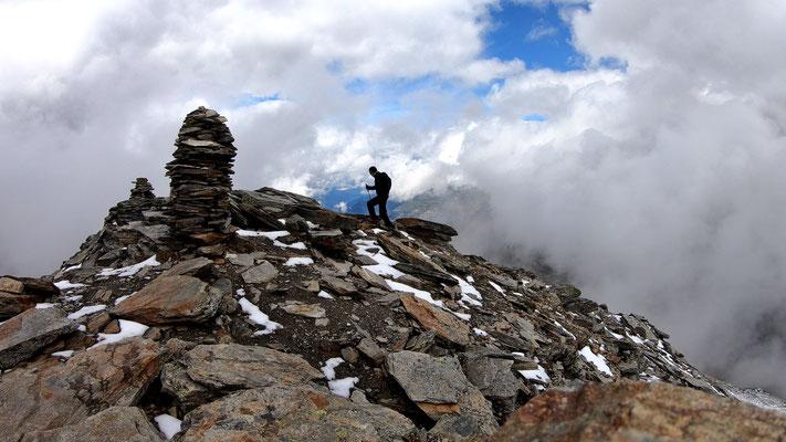 Fanellhorn-Gipfel - 3123 M