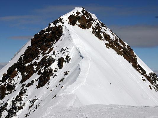 Weissmies-Gipfelgrat