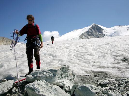 Am Gletscherrand - Ca. 3330 M