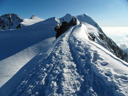 Schwarzhorn - Grat und Gipfel