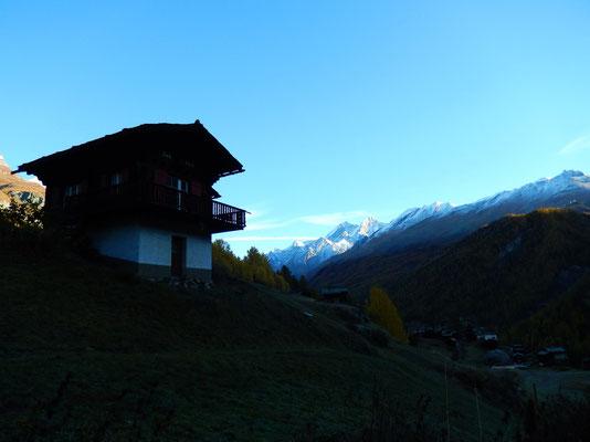 Start in Zermatt - 1608 M