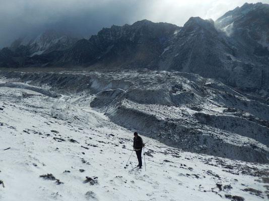 Am Fuß des Awi Peak