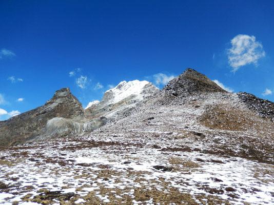 Blick zurück - Lobuche East - Awi Peak