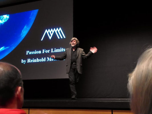 Motiv 14 - Passion for Limits - Reinhold Messner in Freiburg - 2013