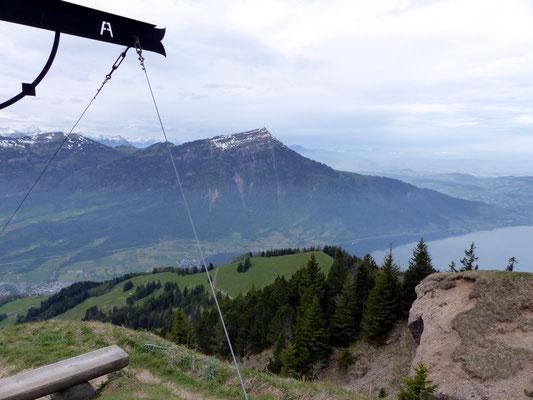 Gipfelblick zur Rigi Kulm - 1798 M