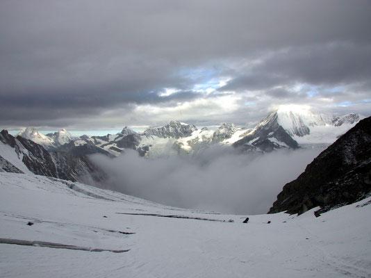 Wolken - Nebel - Neuschnee