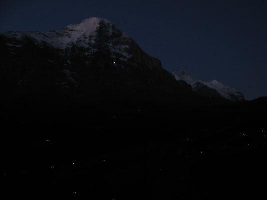 Eiger bei Nacht
