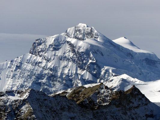 Gipfelblick - Grand Combin - 4314 M