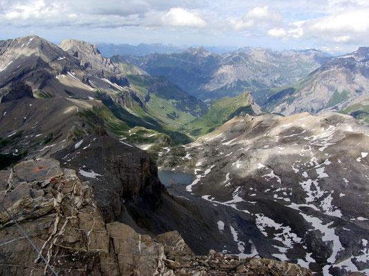 Gipfelblick zum Lämmerensee
