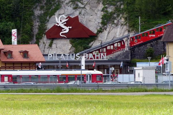 Talstation in Alpnachstad