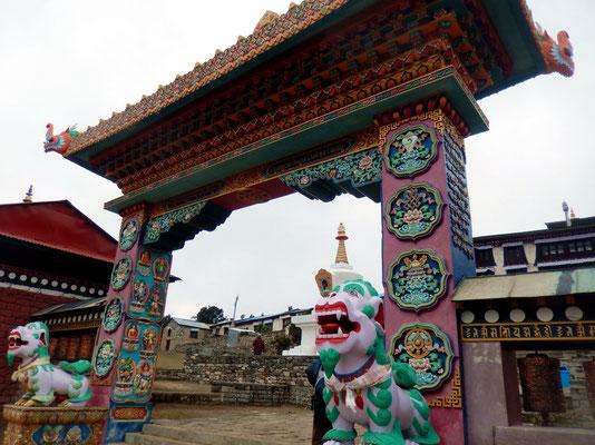 Eingang - Tengboche-Monastery