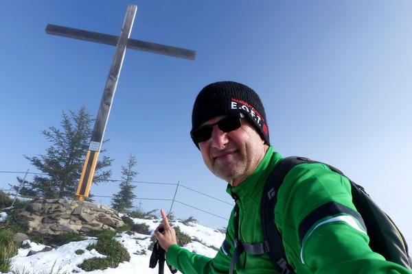 Am Gipfel des Stanserhorn