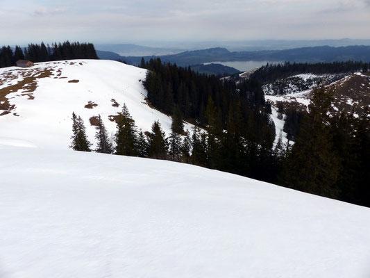 Gipfelblick nach Nord