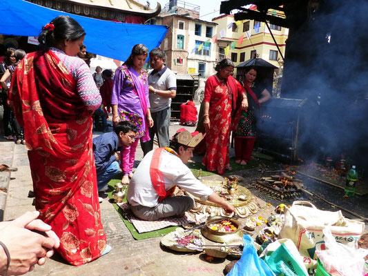 Religiöse Zeremonie