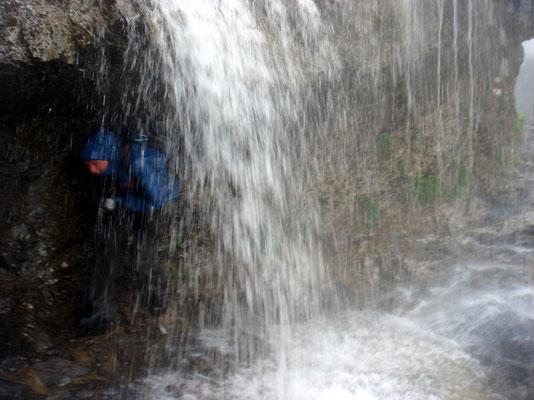 Überflutete Wege