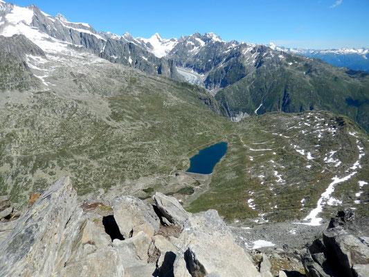 Gipfelblick - Märjelasee