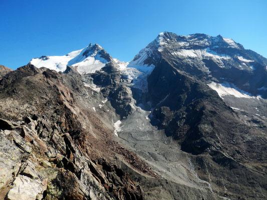 Gipfelbild - Fletschhorn 3985 M - Lagginhorn 4010 M