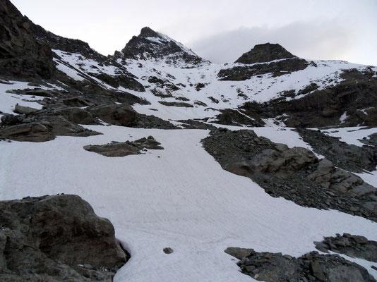 Auf dem Glacier du Meitin