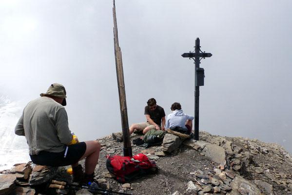 Oldenhorn-Gipfel, 3123 M