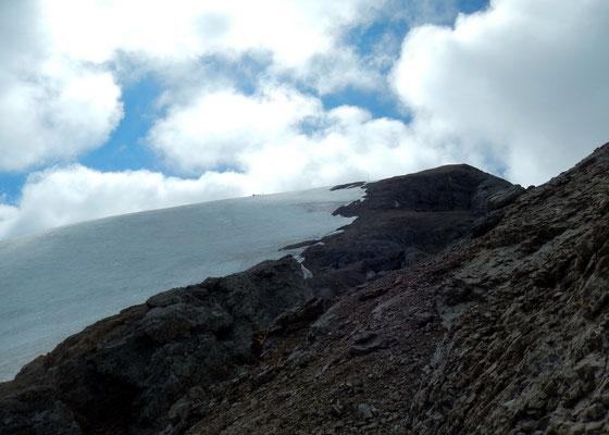 Am Westgrat - Rückkehr auf den Felsgrat