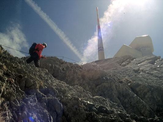 Girenspitzgrat zum Gipfel