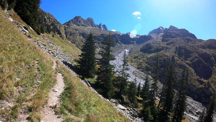 Val la Buora - von der Alp Puzzetta