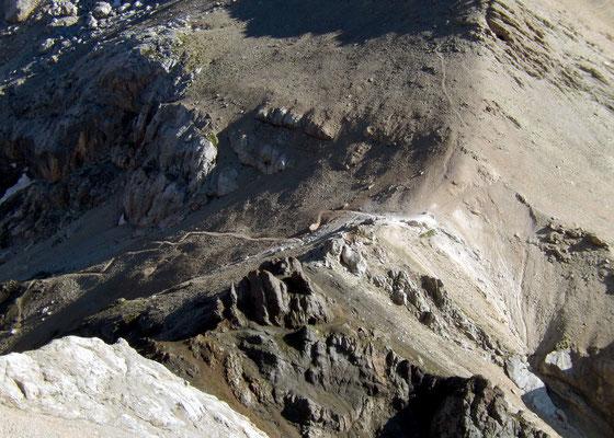 Gipfelblick zum Ombrettapass