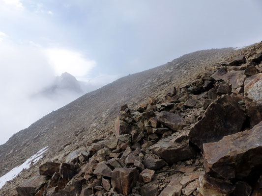 Gipfelzone - Piz Trovat