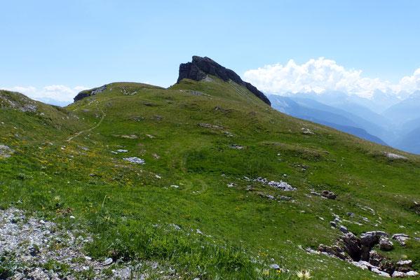 Am Kamm zwischen Mont u. Petit Mont Bonvin
