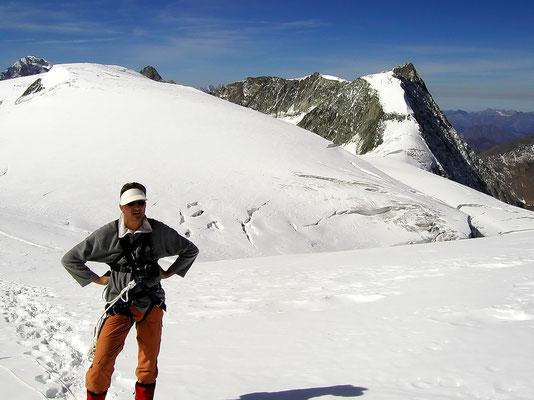 HP am Gipfel - 3790 M