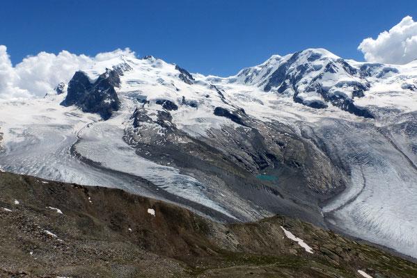Gornergletscher - Monte Rosa - Grenzgletscher - Lyskamm