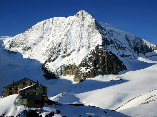Blick vom Gipfel des Tête Noire