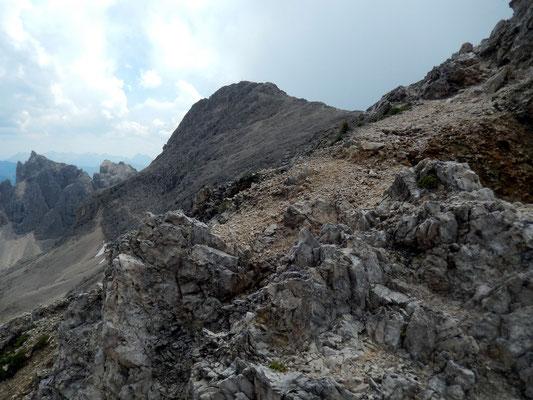 Blick von Antermoia auf die Cima