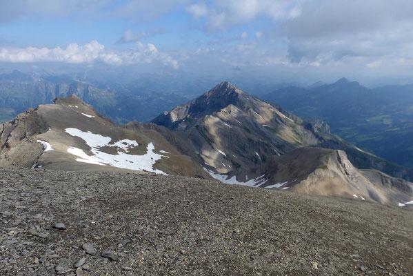 Gipfelblick nach Nordost - Gältihore