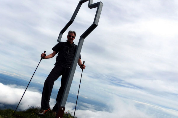 Am Gipfel des Widderfeld - 2075 M