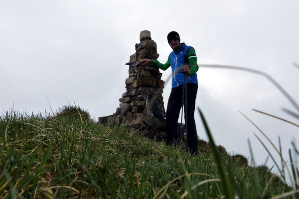 Am Gipfel des Heitlistock - 2146 M