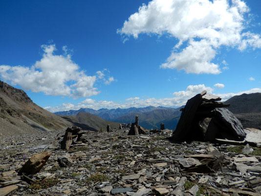 Blick von der Fuorcla Pischa - 2871 M