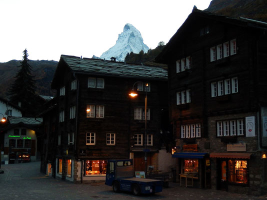 Zurück in Zermatt