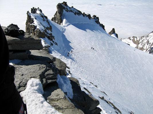 Gipfelblick nach Südosten