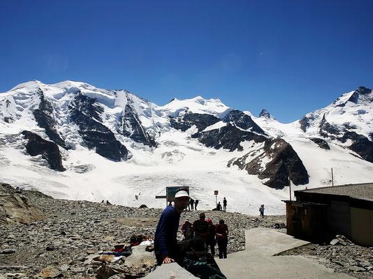 Zurück - Diavolezza-Bergstation