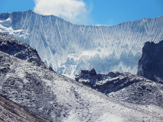 Gipfelblick - Pama Dablam 6430 M