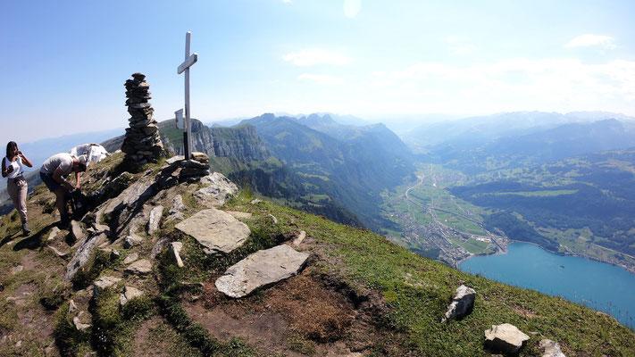 Brisi-Gipfel - 2279 M