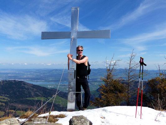 Gross Aubrig-Gipfel - 1695 M