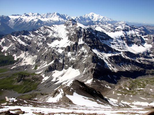 Gipfelblick Tour Sallière - 3220 M
