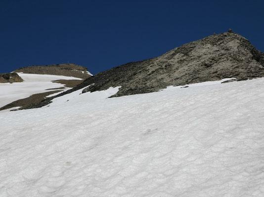 Steghorn - Gipfelplateau