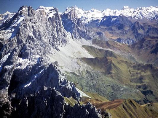Gipfelblick auf Sulzfluh