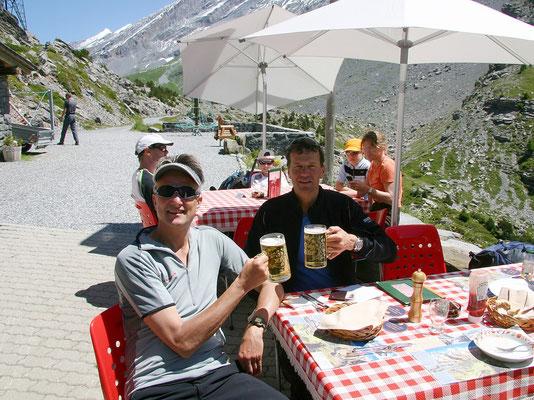 Gipfelbier in Schwarenbach