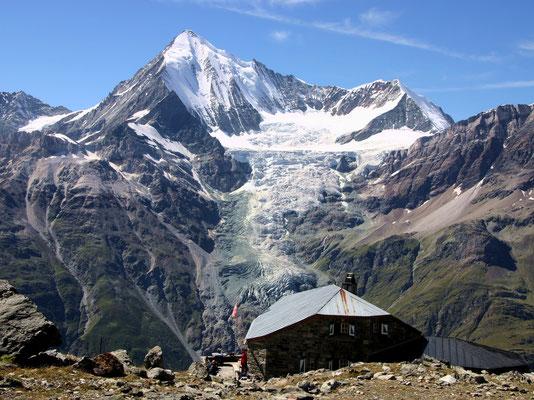 Domhütte vor Weisshorn - 2940 M